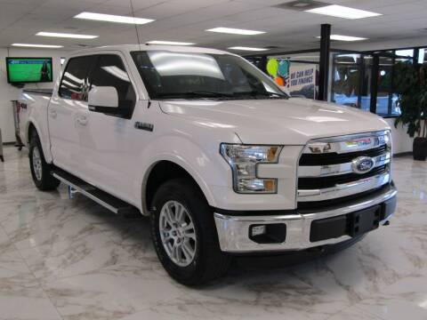 2015 Ford F-150 for sale at Dealer One Auto Credit in Oklahoma City OK