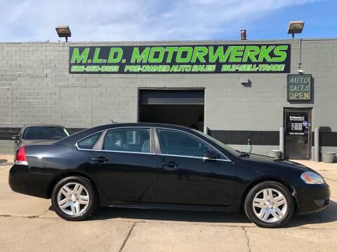 2011 Chevrolet Impala for sale at MLD Motorwerks Pre-Owned Auto Sales - MLD Motorwerks, LLC in Eastpointe MI