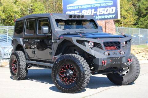 2019 Jeep Wrangler Unlimited for sale at Skyline Motors in Louisville TN