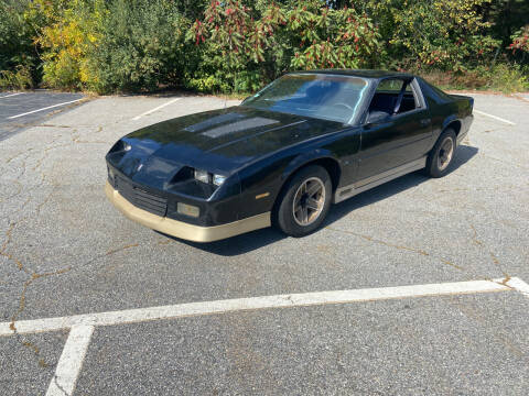 1986 Chevrolet Camaro for sale at Clair Classics in Westford MA