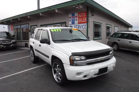 2005 Chevrolet TrailBlazer for sale at 777 Auto Sales and Service in Tacoma WA