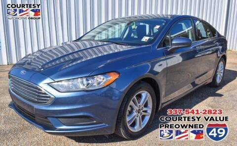 2018 Ford Fusion for sale at Courtesy Value Pre-Owned I-49 in Lafayette LA