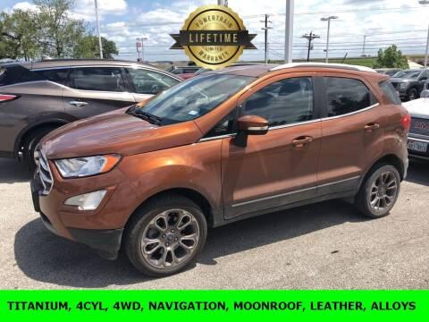 2018 Ford EcoSport for sale at Nissan of Boerne in Boerne TX