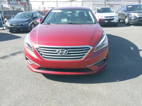 2016 Hyundai Sonata for sale at LaBate Auto Sales Inc in Philadelphia PA