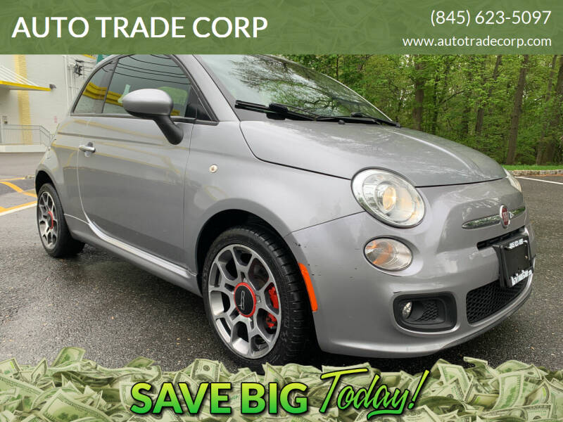2015 FIAT 500 for sale at AUTO TRADE CORP in Nanuet NY