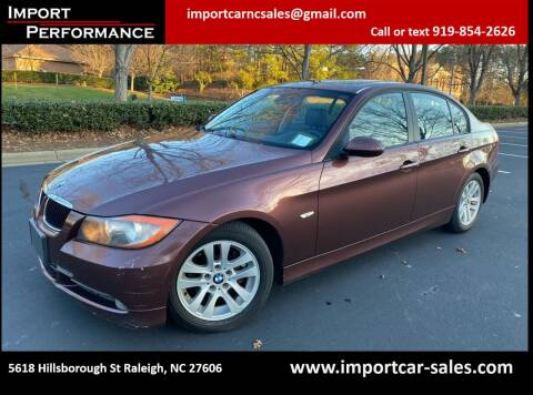 2007 BMW 3 Series for sale at Import Performance Sales in Raleigh NC