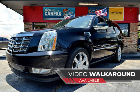 2011 Cadillac Escalade for sale at ALWAYSSOLD123 INC in North Miami Beach FL