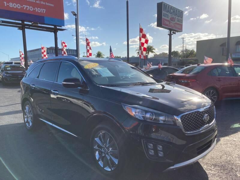 2016 Kia Sorento for sale at MACHADO AUTO SALES in Miami FL