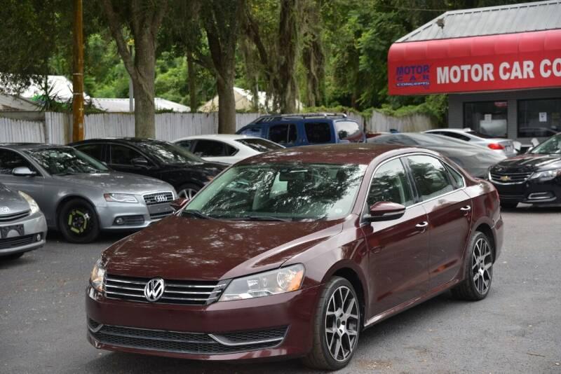 2012 Volkswagen Passat for sale at Motor Car Concepts II - Apopka Location in Apopka FL