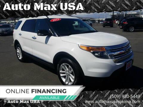 2015 Ford Explorer for sale at Auto Max USA in Yakima WA