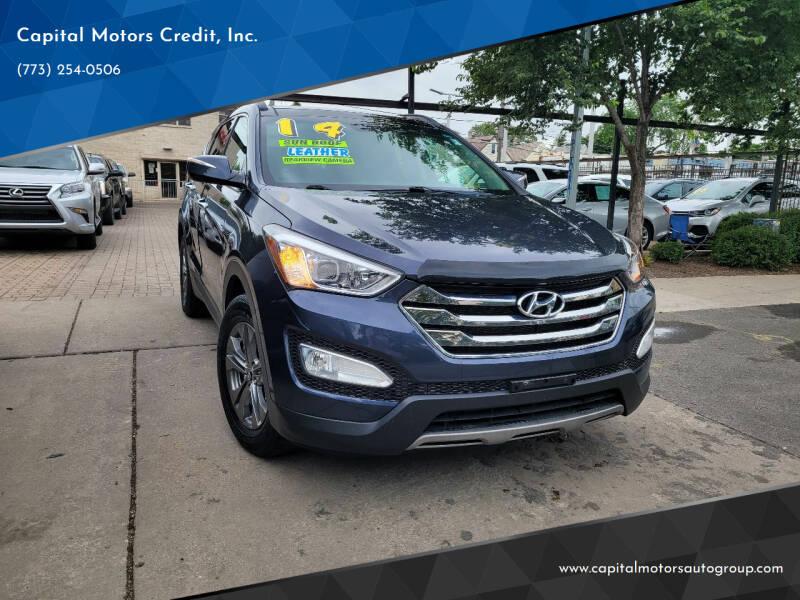2014 Hyundai Santa Fe Sport for sale at Capital Motors Credit, Inc. in Chicago IL