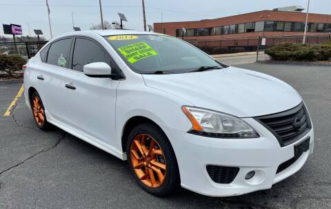 2014 Nissan Sentra for sale at Fields Corner Auto Sales in Dorchester MA