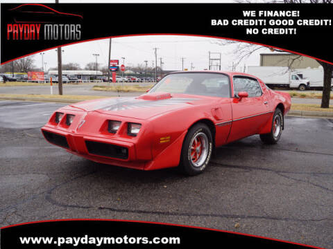 1979 Pontiac Firebird for sale at Payday Motors in Wichita And Topeka KS