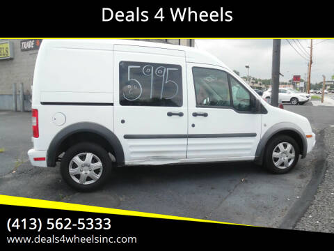 2010 Ford Transit Connect for sale at Deals 4 Wheels in Westfield MA