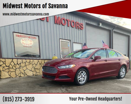 2014 Ford Fusion for sale at Midwest Motors of Savanna in Savanna IL