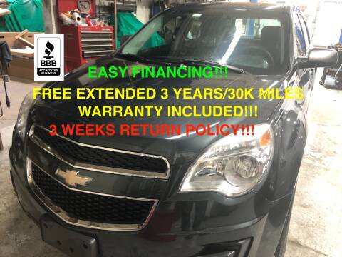 2013 Chevrolet Equinox for sale at Mikes Auto Forum in Bensenville IL