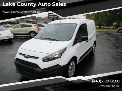 2014 Ford Transit Connect Cargo for sale at Lake County Auto Sales in Painesville OH