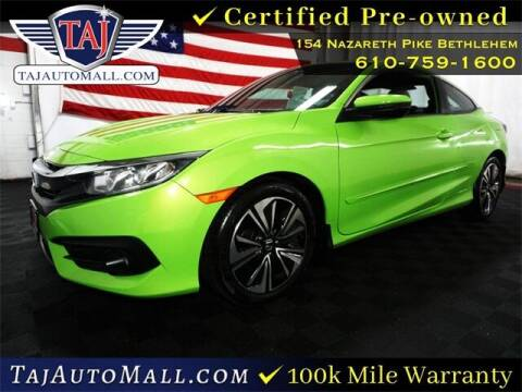 2016 Honda Civic for sale at Taj Auto Mall in Bethlehem PA