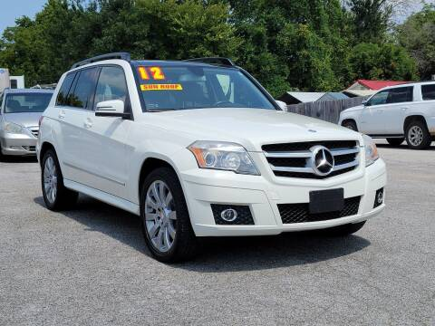 2012 Mercedes-Benz GLK for sale at AutoMart East Ridge in Chattanooga TN