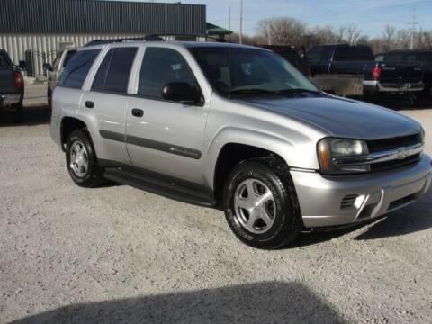 2004 Chevrolet TrailBlazer for sale at Frieling Auto Sales in Manhattan KS