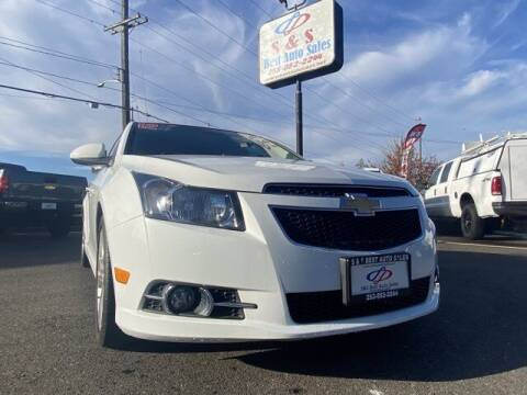 2012 Chevrolet Cruze for sale at S&S Best Auto Sales LLC in Auburn WA