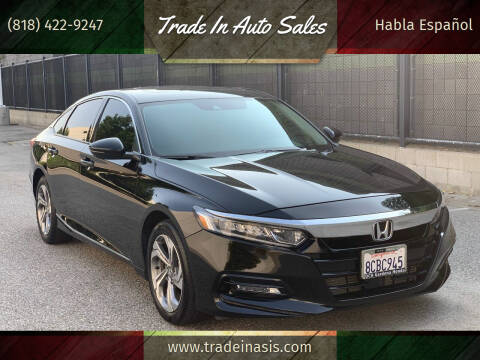 2018 Honda Accord for sale at Trade In Auto Sales in Van Nuys CA