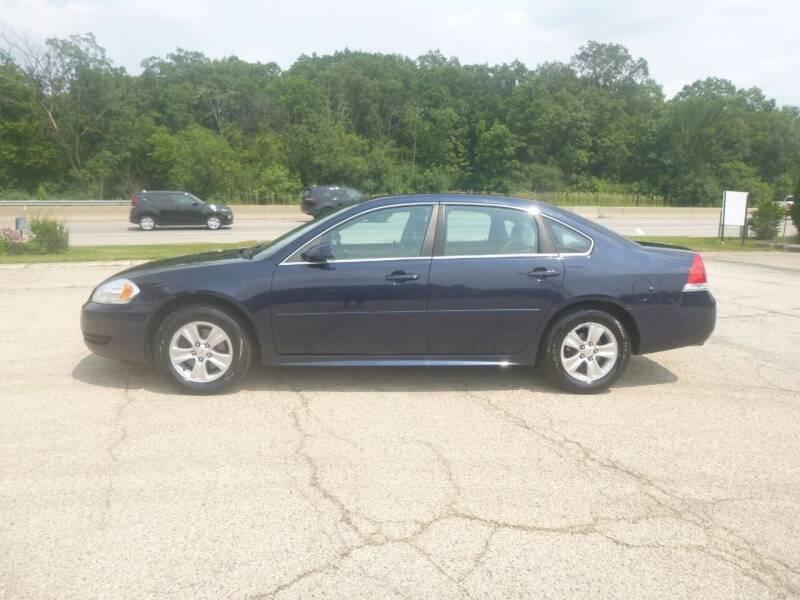 2012 Chevrolet Impala for sale at NEW RIDE INC in Evanston IL