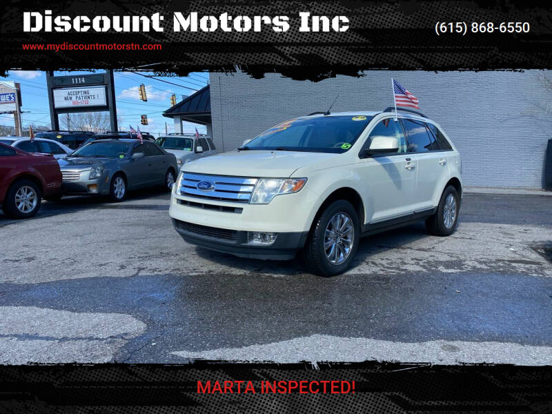 2007 Ford Edge for sale at Discount Motors Inc in Madison TN