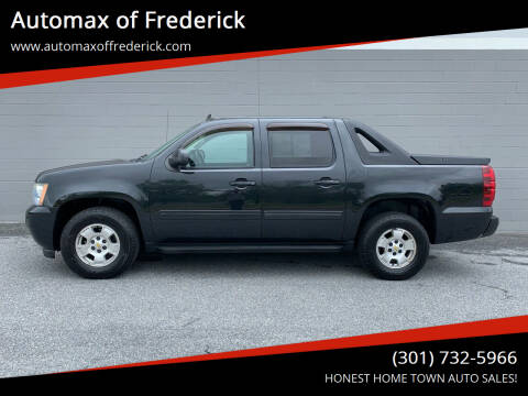 2010 Chevrolet Avalanche for sale at Automax of Frederick in Frederick MD
