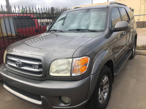 2004 Toyota Sequoia for sale at Auto Access in Irving TX