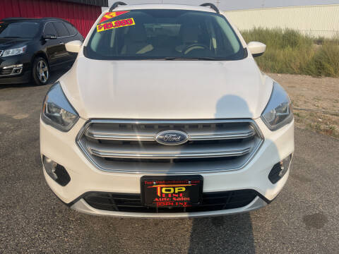 2017 Ford Escape for sale at Top Line Auto Sales in Idaho Falls ID