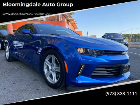 2018 Chevrolet Camaro for sale at Bloomingdale Auto Group - The Car House in Butler NJ
