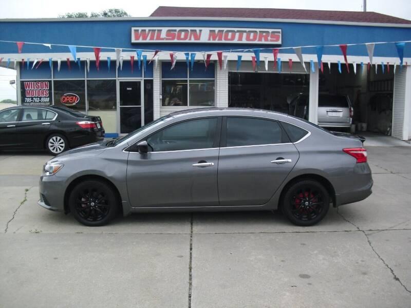 2018 Nissan Sentra for sale at Wilson Motors in Junction City KS