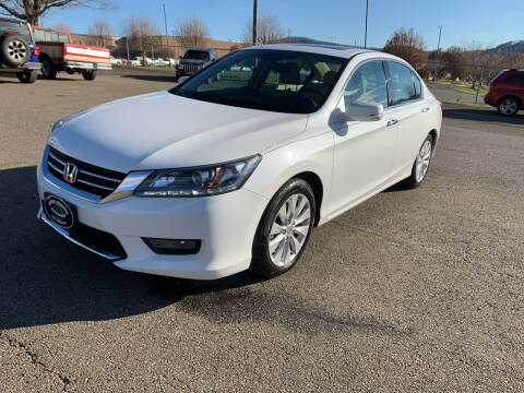 2014 Honda Accord for sale at Steve Johnson Auto World in West Jefferson NC