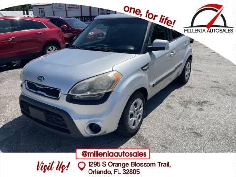 2012 Kia Soul for sale at Millenia Auto Sales in Orlando FL