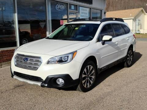 2017 Subaru Outback for sale at Green Cars Vermont in Montpelier VT