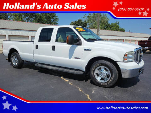 2006 Ford F-250 Super Duty for sale at Holland's Auto Sales in Harrisonville MO