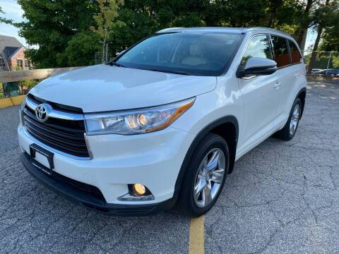2015 Toyota Highlander for sale at Welcome Motors LLC in Haverhill MA