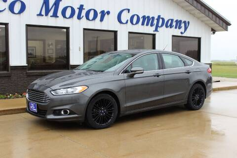 2016 Ford Fusion for sale at Cresco Motor Company in Cresco IA