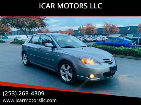 2005 Mazda MAZDA3 for sale at ICAR MOTORS LLC in Federal Way WA