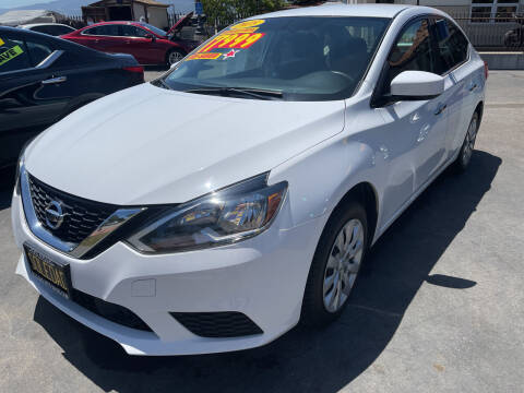 2018 Nissan Sentra for sale at Soledad Auto Sales in Soledad CA