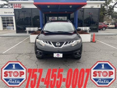 2011 Nissan Murano for sale at 1 Stop Auto in Norfolk VA