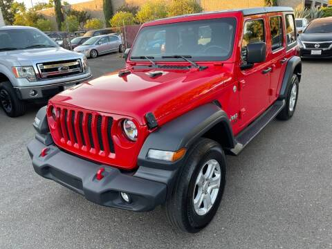 2020 Jeep Wrangler Unlimited for sale at C. H. Auto Sales in Citrus Heights CA