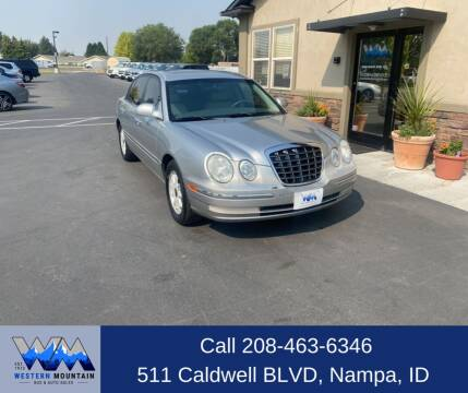 2005 Kia Amanti for sale at Western Mountain Bus & Auto Sales in Nampa ID