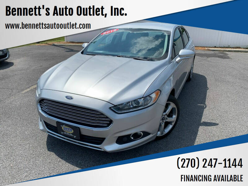 2015 Ford Fusion for sale at Bennett's Auto Outlet, Inc. in Mayfield KY