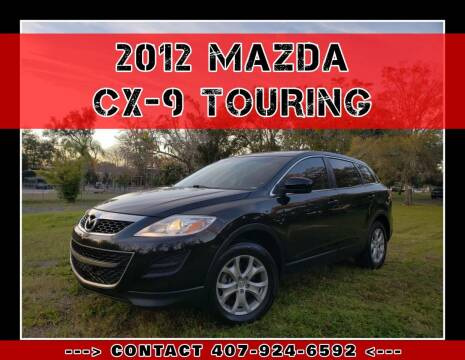 2012 Mazda CX-9 for sale at AFFORDABLE ONE LLC in Orlando FL