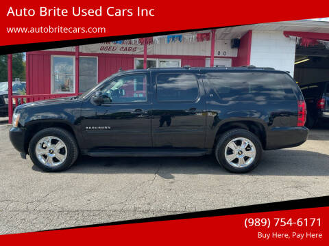 2014 Chevrolet Suburban for sale at Auto Brite Used Cars Inc in Saginaw MI