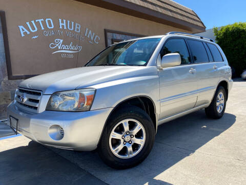 2005 Toyota Highlander for sale at Auto Hub, Inc. in Anaheim CA