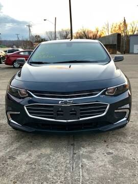 2018 Chevrolet Malibu for sale at Stephen Motor Sales LLC in Caldwell OH