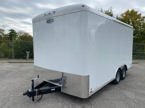 2020 Continental Cargo Tailwind 8x16 for sale at Columbus Powersports - Cargo Trailers in Columbus OH